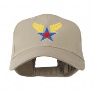 Army Air Corps Military Embroidered Cap - Khaki