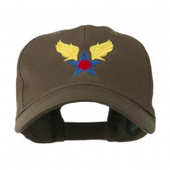 Army Air Corps Military Embroidered Cap - Brown