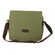 Water Resistant Computer and iPad Bag - Olive