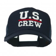 US Crew Embroidered Mesh back Cap - Navy