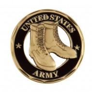 U.S. Army Saying Coin (1) - Boots