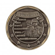 U.S. Army Saying Coin (1) - Values
