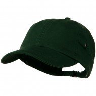 100% Organic Cotton Twill Cap - Forest