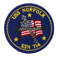 USS Cities Patches - USS Norfolk