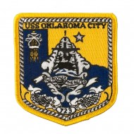 USS Cities Patches - USS Oklahoma City