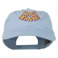 Class Reunion Embroidered Washed Cap - Lavender