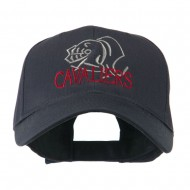 Cavaliers Mascot Embroidered Cap - Navy