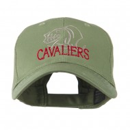 Cavaliers Mascot Embroidered Cap - Olive
