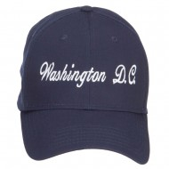 Washington D.C. Embroidered Cap - Navy