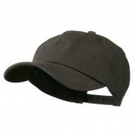 Deluxe Brushed Cotton Cap - Charcoal