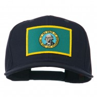 State of Washington Embroidered Patch Cap - Navy