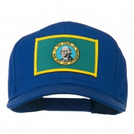 State of Washington Embroidered Patch Cap - Royal
