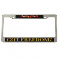 Assorted 3D License Frame - Freedom