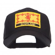 Europe Scotland Flag Patched Cap - Black