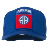 82nd Airborne Military Patched Cap - Royal