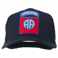 82nd Airborne Military Patched Cap - Navy