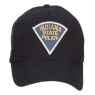 Indiana State Police Patch Cap - Black
