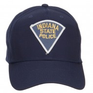 Indiana State Police Patch Cap - Navy