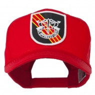 US Army Special Forces De Oppresso Liber Patched High Profile Cap - Red