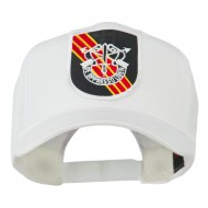 US Army Special Forces De Oppresso Liber Patched High Profile Cap - White