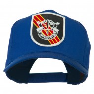 US Army Special Forces De Oppresso Liber Patched High Profile Cap - Royal