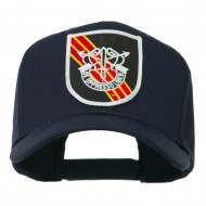 US Army Special Forces De Oppresso Liber Patched High Profile Cap - Navy