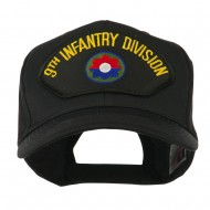 US Army Division Military Large Patched Cap - 9th Infantry