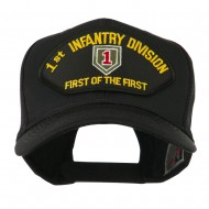 US Army Division Military Large Patched Cap - 1st Infantry