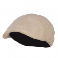 Suede Duck Bill Ivy Hat - Tan