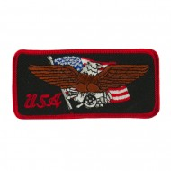 Eagle Embroidered Military Patch - USA
