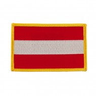 Europe Flag Embroidered Patches - Austria