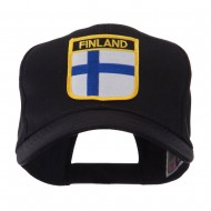 Europe Flag Shield Patch Cap - Finland