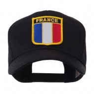 Europe Flag Shield Patch Cap - France