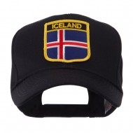 Europe Flag Shield Patch Cap - Iceland