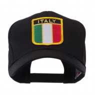 Europe Flag Shield Patch Cap - Italy