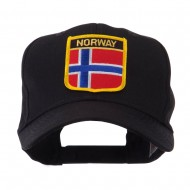 Europe Flag Shield Patch Cap - Norway