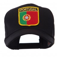 Europe Flag Shield Patch Cap - Portugal