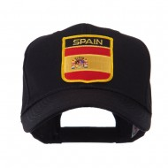 Europe Flag Shield Patch Cap - Spain