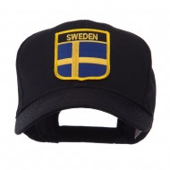Europe Flag Shield Patch Cap - Sweden