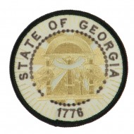 Eastern State Seal Embroidered Patch - Georgia