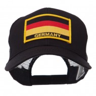 Europe Flag Letter Patched Mesh Cap - Germany