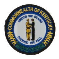 Eastern State Seal Embroidered Patch - Kentucky
