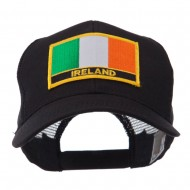 Europe Flag Letter Patched Mesh Cap - Ireland