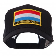 Europe Flag Letter Patched Mesh Cap - Luxembourg