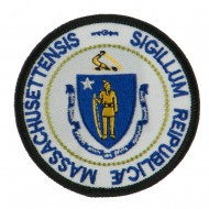 Eastern State Seal Embroidered Patch - Massachusetts