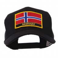 Europe Flag Letter Patched Mesh Cap - Norway
