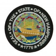 Eastern State Seal Embroidered Patch - New Hampshire