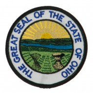 Eastern State Seal Embroidered Patch - Ohio