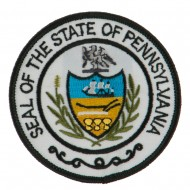 Eastern State Seal Embroidered Patch - Pennsylvania