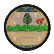 Eastern State Seal Embroidered Patch - Vermont